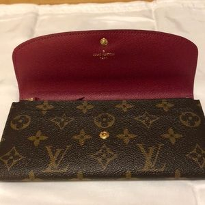 Louis Vuitton Bags - 100%Authentic Louis Vuitton Monogram Emilie Wallet